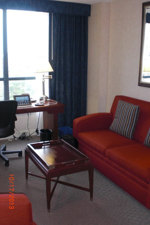 Sheraton Suites Old Town Alexandria: Living Room