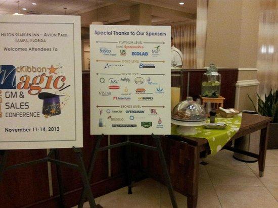 Hilton Garden Inn Tampa Airport Westshore: lobby