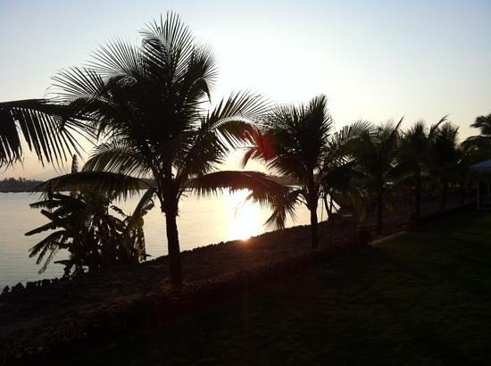 Hoi An Silk Marina Resort & Spa: sunset at the Marina Hoi An