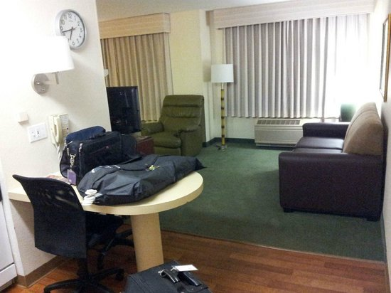 Extended Stay America - Tampa - Airport - N. West Shore Blvd.: Living room