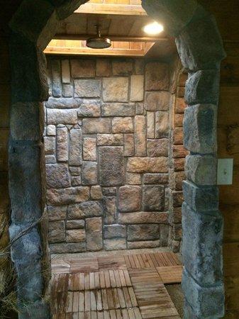 Stone Showers. Great Travertine Shower Natural Stone Shower Full ...