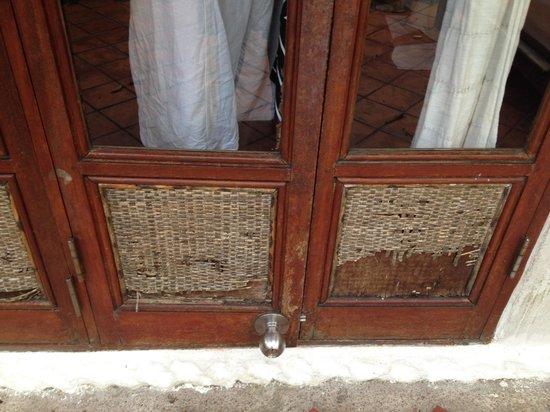 Thipwimarn Resort : Entrance door
