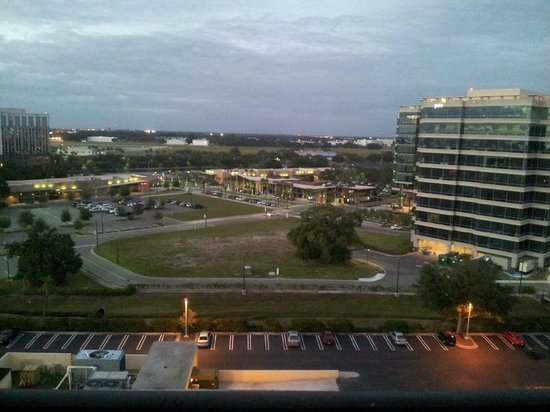 Hilton Tampa Airport Westshore: View from balcony -12th floor
