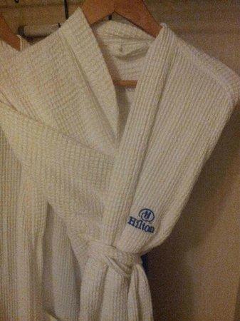 Hilton Tampa Airport Westshore: Free robes