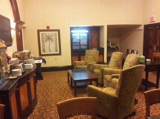 Hilton Tampa Airport Westshore : Concierge Lounge access for top two floors
