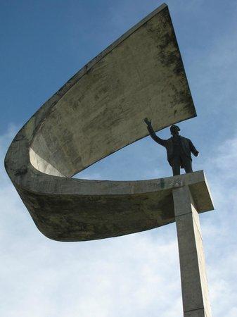 Memorial JK: Topo do monumento JK