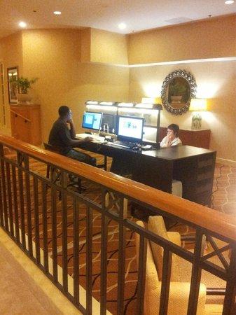 Hilton Tampa Airport Westshore: Lobby
