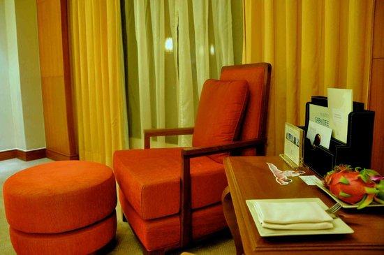 Shangri-La Hotel, Chiang Mai: Fresh dragon fruit!