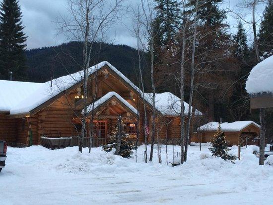 Lochsa Lodge: the main lodge