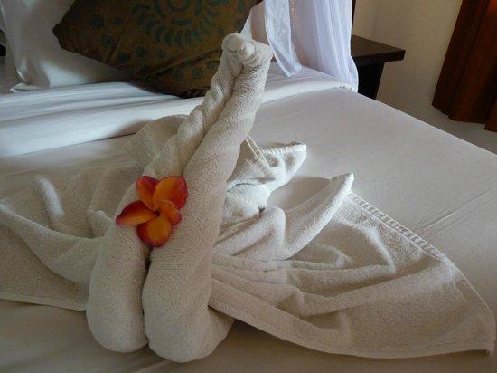 Saren Indah Hotel: Nice welcome touch!