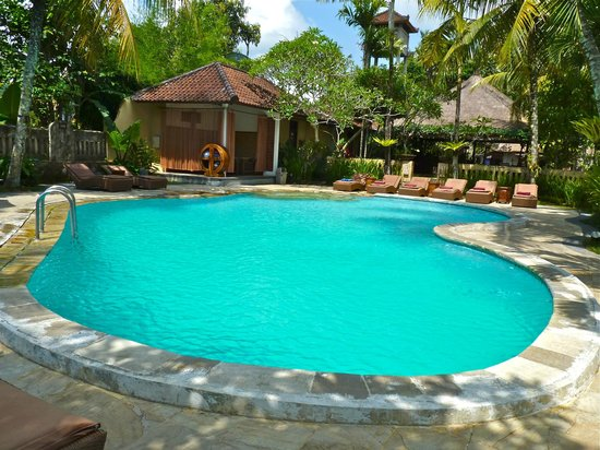 Saren Indah Hotel: Small pool, awesome place to relax and read a book!