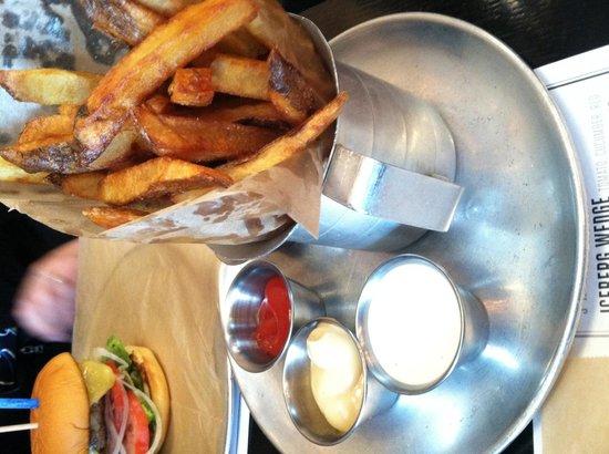 Chuck's: Hand-cut fries