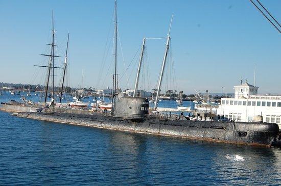 Maritime Museum of San Diego: Russian Submarine
