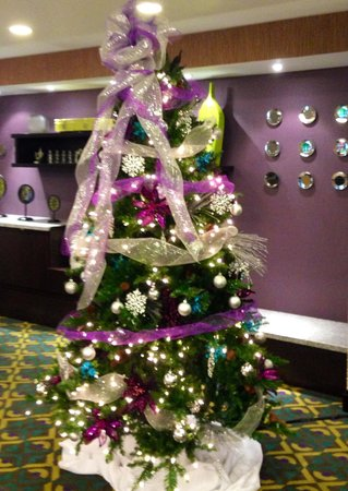 Fairfield Inn & Suites Amarillo Airport: Fairfield Christmas Tree 2013