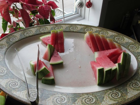 Elm Hurst Inn & Spa : Watermelon.
