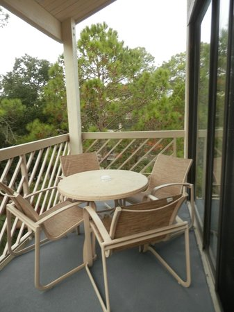 Marriott's Monarch at Sea Pines: Balcony