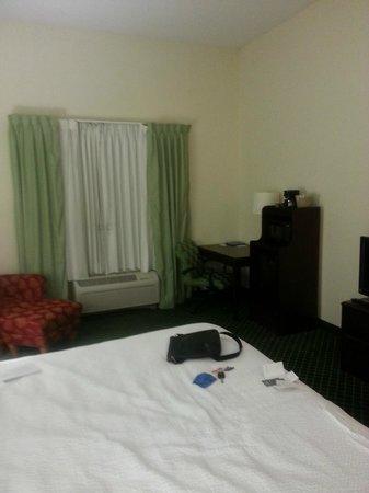 Fairfield Inn Orlando Airport : A shot of the bedroom