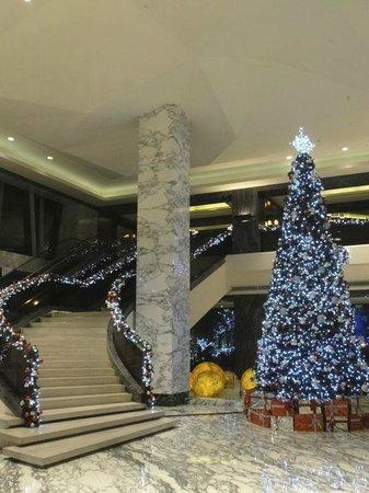 Hilton Shanghai Hongqiao: ちょうどクリスマスでした