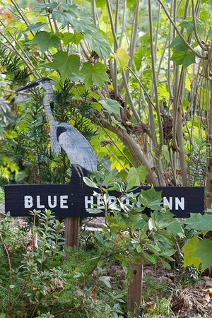 Blue Heron Inn: Entrance