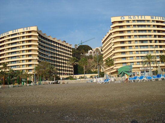 Melia Costa del Sol : Right on the beach!