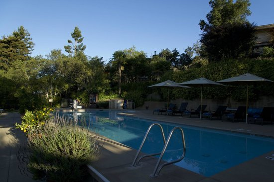 One Of Two Pools One Is Clothing Optional Picture Of Ventana Inn Spa Big Sur Tripadvisor