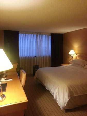 Sheraton Fort Lauderdale Airport & Cruise Port : Long view of the room itself.