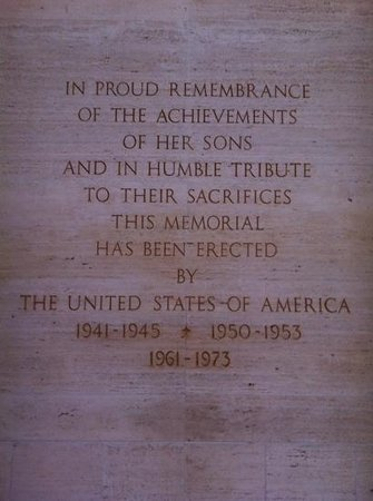 National Memorial Cemetery of the Pacific: a reminder