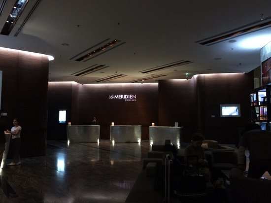 Le Meridien Bangkok : The Lobby at Le Meridien - Bangkok