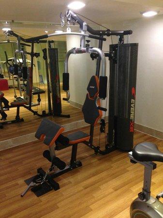 Hanoi Pearl Hotel: Fitness Weight Traning