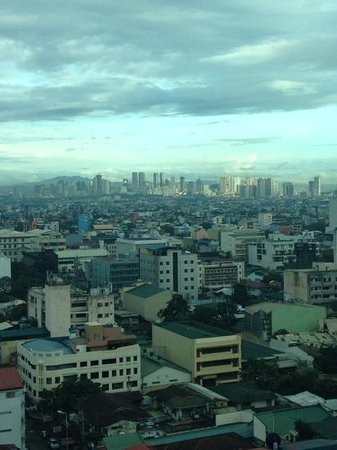 Pan Pacific Manila: View from 15F room