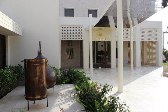 Amouage Perfumery: Eingang zu Amouage
