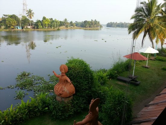 Citrus Retreats Alleppey: view from room