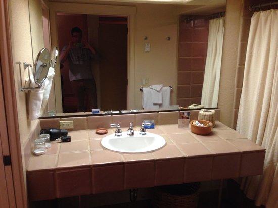 Hotel Pacific : bagno