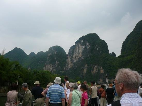 Lijiang Folk Customs Garden: 漓江下り観光