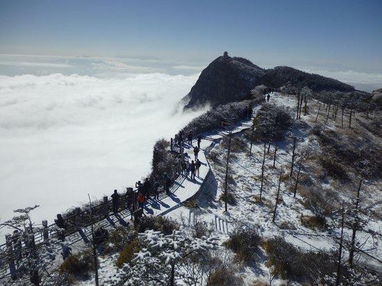 Ten-Thousand Buddhas Peak : Golden Summit