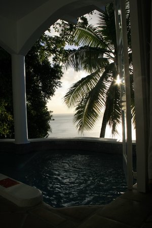 Windjammer Landing Villa Beach Resort: Villa 35 Plunge Pool View
