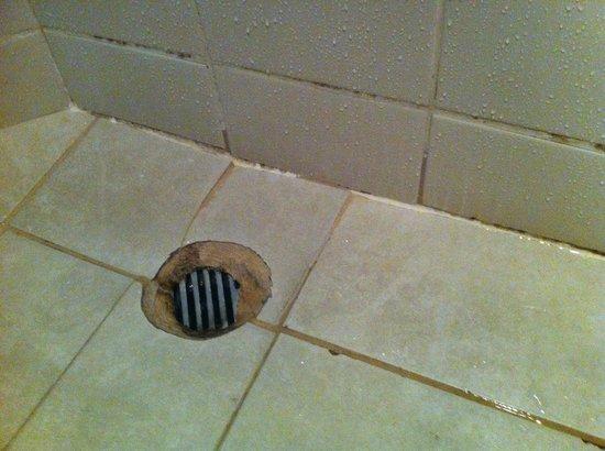 Novotel Nadi : Disgusting bathroom with shotty workmanship