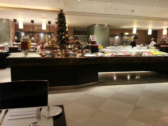 Marco Polo Hongkong Hotel : Buffet at Cafe Marco