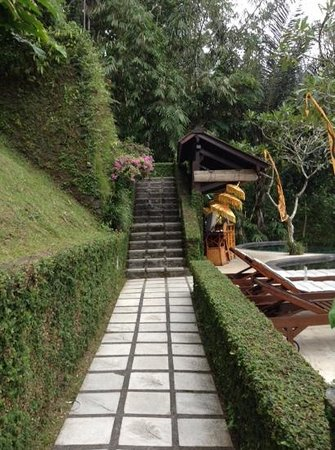 Nandini Bali Jungle Resort & Spa : stairs