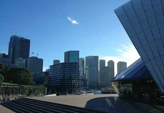 Sydney Opera House : City-view from the Opera House
