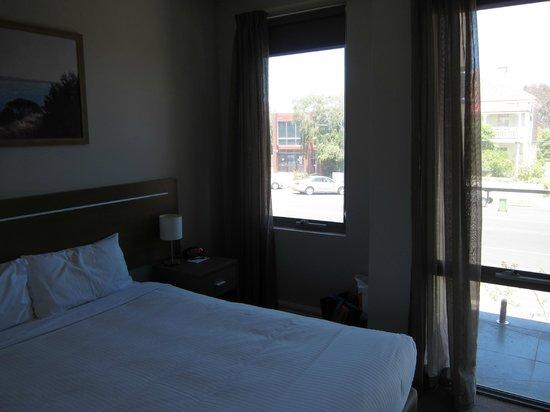 Quest Portland: bedroom @ apt 227
