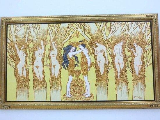 Museum of Contemporary Art (MOCA): Chuang Moonpinit作「Lover」