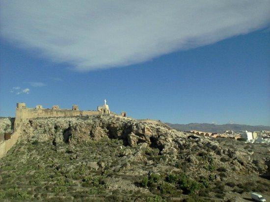 Conjunto Monumental de La Alcazaba: View of the extent of the fortress
