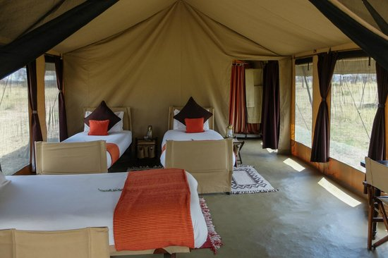Olakira Camp, Asilia Africa: our tent
