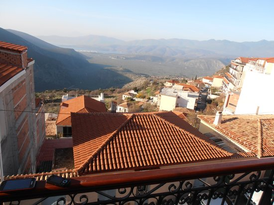 Fedriades Delphi Hotel: balkony