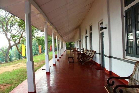 Hambantota Rest House: Varandha