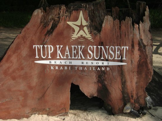 Tup Kaek Sunset Beach Resort : Omgeving