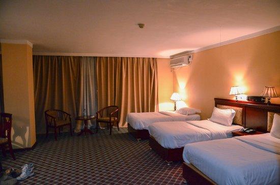 Top Tower Hotel Kigali: bedroom