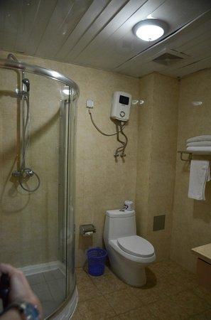 Top Tower Hotel Kigali: bathroom