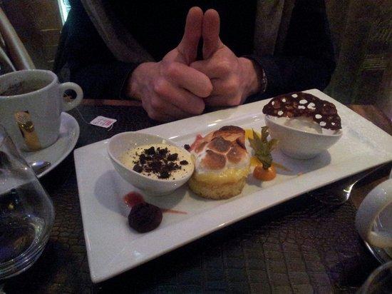 La Cabane de l'Ecailler : Thé très très gourmand!